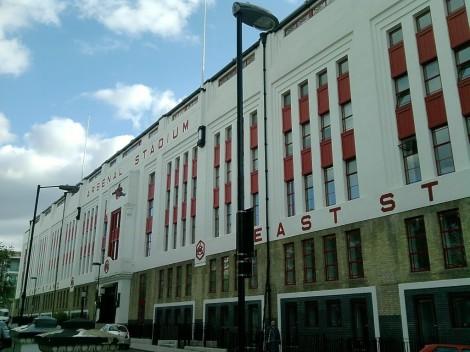 Het oude stadion ligt er nog steeds prachtig bij