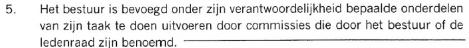Citaat uit: Statuten vereniging