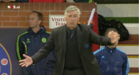 Het avontuur van Carlo Ancelotti bij Chelsea is voorbij