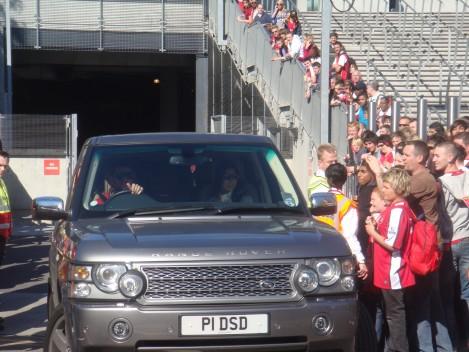 Cesc Fabregas, sleutelspeler bij Arsenal. Maar voor hoe lang nog?