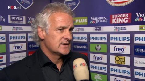 Fred Rutten verliest twee punten, maar is toch de morele winnaar van PSV-Ajax