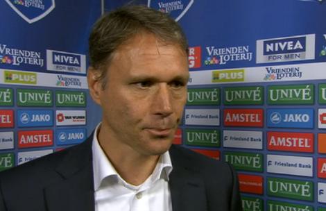 Marco van Basten, vanaf volgend seizoen de trainer van AZ.