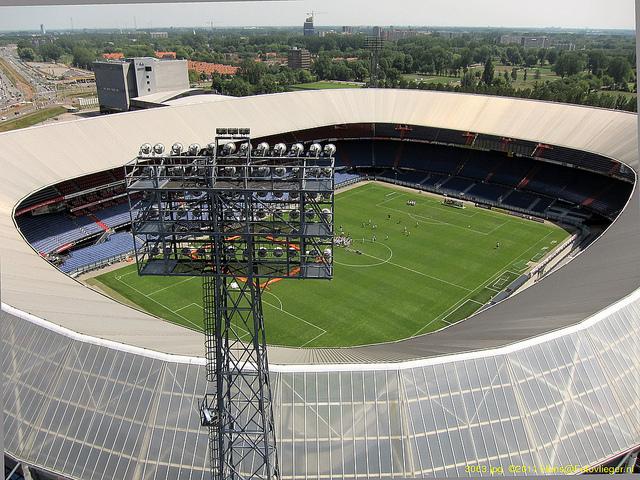 Het Feyenoord stadion