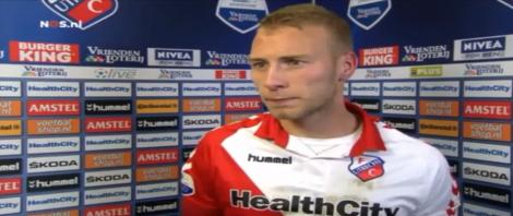 Vandaag maakte Ajax zijn nieuwe aanwinst bekend: Mike van der Hoorn