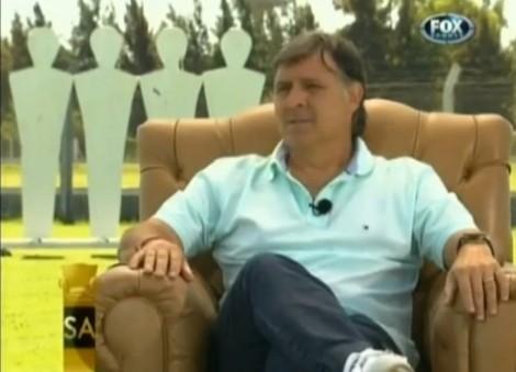 Gerardo Martino, de nieuwe coach van FC Barcelona.
