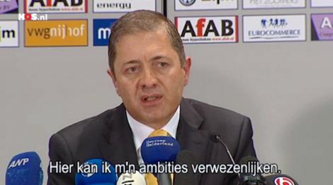 Vitesse-eigenaar Merab Jordania