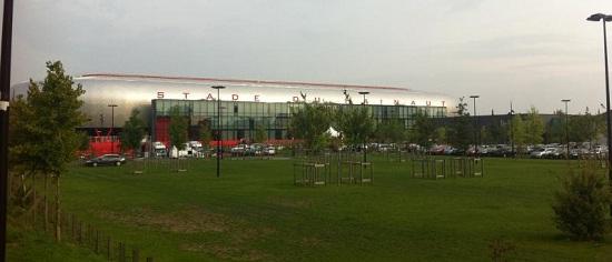 Het Stade du Hainaut van Valenciennes.