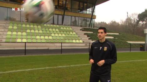 Marko Vejinovic is één van de sterkhouders bij koploper Vitesse