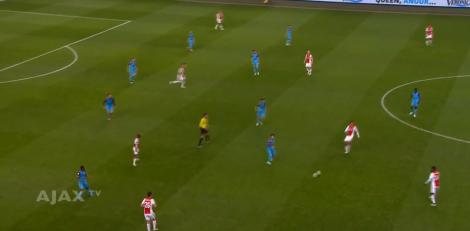 Vitesse laat zich inzakken en houdt de linies kort op elkaar.