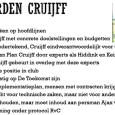 Met een klap op de gong wordt op 11 mei 1998 de beursgang van Ajax bekrachtigd. Dat levert de Amsterdamse club een kapitaalinjectie van omgerekend 53 miljoen euro op. Sinds dat moment is de dagelijkse leiding bij Ajax niet meer in handen van vrijwilligers, […]