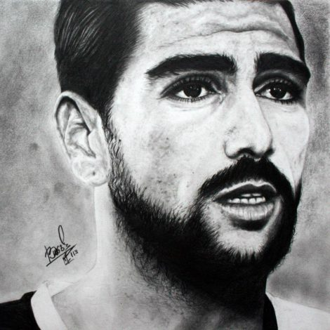 Graziano Pellè, door Daria Isaeva